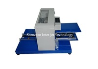Upgrade A4  digital flatbed  printer for Tshirt&plastic&pvc&wooden&leather&acrylic printing