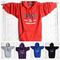 2014 Regular Hot Sale Tracksuit Tracksuits Who Sets Garment Unlined Upper Men Hooded Jacket Fertilizer Plus-size Flannelette