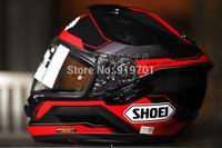 Very cool motorcycle helmet  very cool vespa helmet name brands Shoei helmet gt-air journey double lenses top helmet