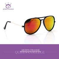 Queen college with case Hot Selling aviator sport sunglasses men 6colors Fashion Brands sun glasses de sol QC0092
