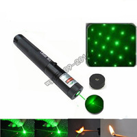 Wholesale - Cost price promotion Laser 303 5000mw 532nm Green Laser Pointer Pen 6000m Zoomable Burning Matches free shipping
