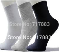 2014 Summer Promotion Socks fashion classic Men's sport socks cotton business casual men socks black/white/gray,10pcs=5pairs/lot