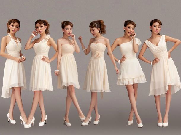 Beige Dresses For Bridesmaids Beige Bridesmaid Dresses