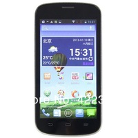 Original ZTE V818 Android  Mobile Phone4.5 Inch IPS MTK6572 Dual Core Dual Sim Russian Support Multi Language Free shipping