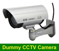 Free shipping emulational IR fake decoy dummy security surveillance CCTV outdoor bullet waterproof video camera system