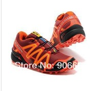 2014 Salomon Zapatillas Speedcross 3 Running Shoes Woman Walking Ourdoor CS XT 3D Female Male Sneaker