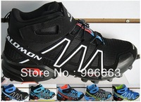 2014 new Zapatillas Salomon Speedcross 3 Running Shoes style hot running shoes Salomon Athletics Men's high shoes
