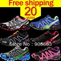2014 new arrival Zapatillas sport running shoes salomon speedcross 3 for men ,Athletic Walking Shoes free shipping