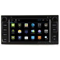 6.2'' Capacitive Screen Pure Android 4.2.2 Car GPS Navigation for Toyota Universal DVD RADIO BT IPOD 3G Wifi A9 Dual Core 1GHz