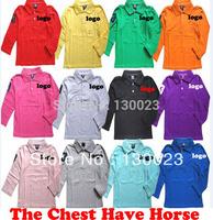 Autumn Summer Children brandT Shirt Girls Sport t shirt Kids long sleeve brand tops Boys pure color cotton t shirt  Retail !!