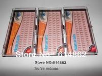 3 Trays 6 beam 60 clusters 12mm 10mm 8mm 0.15C C-Lash Curl Black Individual Silk False Eyelashes Eye Lash Extension Kit Set FK