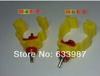 100pcs chicken nipple water drinker feeder Waterer Poultry Supplies chicken equipment nipples drinking