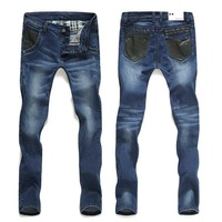 2013 fashion designer brand men elastic  jeans skinny denim pants trousers,xiangying8709
