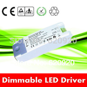12w 700ma constant current 0/1-10v led driver dimmable led driver/led transformer plastic casing ce rohs transformers(China (Mainland))