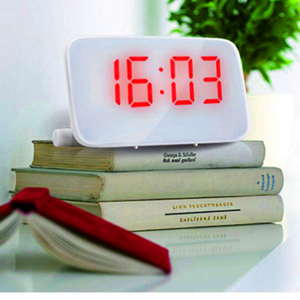 Digital LED Message Board Alarm Clock Sound Control Save Power(China (Mainland))