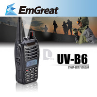 BAOFENG UV-B6 VHF 136-174 UHF 400-470MHz Dual Band Two-Way Radio Walkie Talkie 016071  Free Shipping