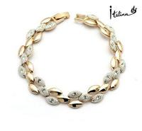 Italina High Quality Crystal Bracelets Women Trendy Bracelet Brand Famous For Girl Gift