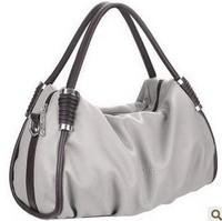 2014 Hot Sale Fashion Women Bags Genuine Sheepskin Handbag Lady PU Handbag 3 Colors Leather Shoulder Bag Handbags