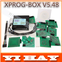 Newest version X-PROG Box 5.48 ECU Programmer XPROG M V5.48 Universal Eeprom Chip Programming tool xprogm, free shipping
