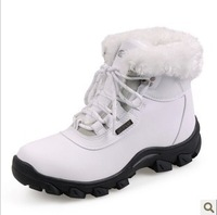 Free 2014 New Arrival Big Large Size Waterproof Ladies Warm Winter Shoes Europe 36-41 Quality Strong Fashion Woman Snow Boots
