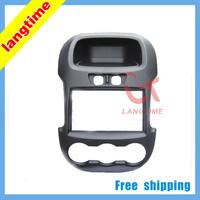 Free shipping-Car refitting DVD frame,DVD panel,Dash Kit,Fascia,Radio Frame,Audio frame for 2012 Ford Ranger,2din(Commen type)