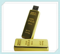 Gold Usb flash memory stick gold 4gb 8GB 16GB 32GB 64GB golden Usb Flash Drive memory stick U Disk pen drive Flash disk Pendrive