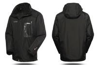 Hot 2in1 Men Winter Outwear Snowboard Waterproof Climbing Hiking Outdoor Jacket