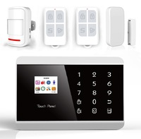 Alarm system Support telephone remote control Wireless alarm system gsm alarm system for home security KR-8218G