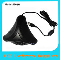 Computer USB conference phone Skype telephone video network phone speakers Conference microphone