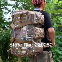 Military Tactical Men Backpack Camping Bag Hiking Trekking Rucksacks,camouflage tactical backpack ,outdoor fun sports bag