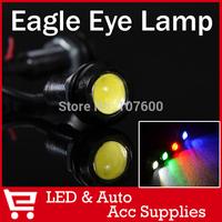 6x 1.8cm Bolt on Screw LED mini Eagle Eye Parking Daytime Driving Tail Lamp Car LED DRL Auto Fog 100%Waterproof Do Licence Light