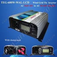 600w grid tie inverter wind turbine Inverter, 3phase ac 10.5-30v to 220v, 230v, 240v ac output,  Pure Sine Wave Inverter