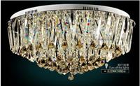 2014 Hot Sale Rushed Lustres Home Decoration Abajur Luxury Diamond Crystal Lamp Pendant Light Modern Brief Circle Lighting Lamps