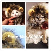cat winter   Lion's Mane Cat Hat wholesale cat's toy like lion mane hat Stuffed & Plush Toy Lion's Mane Hat for Cats
