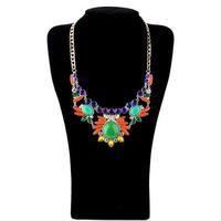 Fashion accessories multicolour national trend short design necklace pendant necklaces pendants best friend
