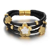 Fashion Leather Rope Bracelet