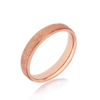 Fashion lovers ring male women's titanium ring one pair