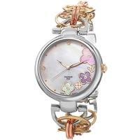 Women Dress Watches Women Wristwatches Akribos XXIV Ladies Twist Chain Diamond Dial Fashion Quartz Watch Gift for Christmas