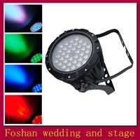Free shipping, promotion,Ultra bright RGB Led slim flat par can, DMX512 led par for Stage,Disco,DJ & dancing hall 4/6 channels
