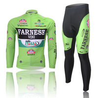 high quality outdoor cycling thermal ciclismo sportswear tights bike bicycle men's sports suits with long sleeve jerseys