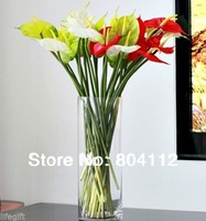 Real Touch Latex Rubber Anthura  Artificial Flower Decoration