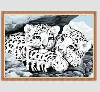 {W.S. Fashion} Diamond painting leopard diamond painting puzzl diy cross stitch square drill diamond  Free Shipping