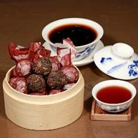 Handmade Ancient Trees High-Grade Ripe Pu Er Tea,Menghai Alpine Arbor Tea Raw Brewing Health Care Weight Lose Food Item New Year