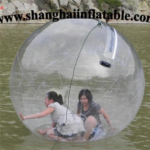 Aufblasbaren fuß ball auf Wasser, bumper ball, Wasser jonglierball, menschlichen hamster ball, zorb kugel, Wasser tanzen ball