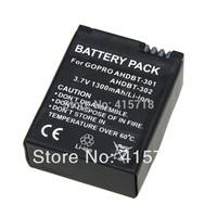 Digital Boy 1pcs AHDBT-301 AHDBT 301 Replacement Li-ion Battery For GoPro go pro accessories HD Hero 3 AHBDT-201 best saling