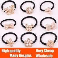 wholesale ! pearl Rhinestone Peacock Butterfly Peacock Flower Bow hair band hair jewelry Accessories Headdress ! Free shipping !