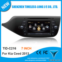 S100 1G CPU DDR 512MB Car DVD For Kia Ceed 2013 With GPS Navigation A8 Chipset 3 Zone POP 3G Wifi BT 20 Dics Playing Free Map