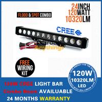 "22"" 120W CREE LED Offroads Lamp BAR Combo Beam Work Light AutoLED Light Bar BOAT UTE 12V 24V EMS/DHL FREESHIPPIN"