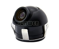 CMOS 170Degree Wide-angle 360Degree Rotation Night Vision Car Front/Side/Rear View Reverse Backup Camera For All 19018