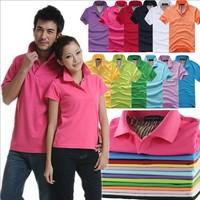 New 2014 t shirt women Cotton Multi-Color T Shirt Lovers' Sport Short Sleeve Plainmens Shirts tops for women tshirt women